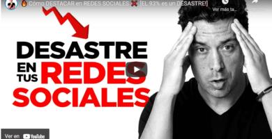 Cómo DESTACAR en REDES SOCIALES / El 93% es un Desastre